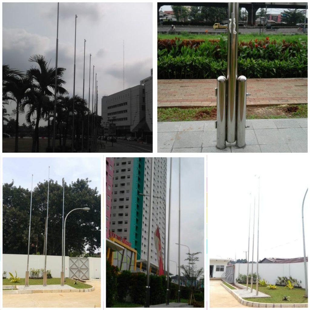Tiang Bendera Stainless