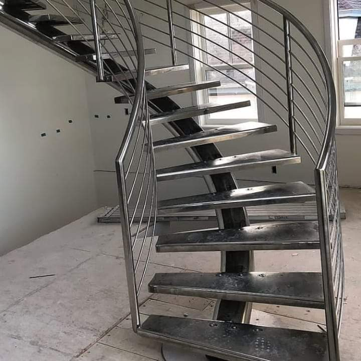 Tangga Putar Stainless Steel|Tangga Layang Stainless Steel