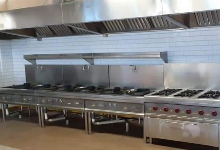 Dapur Restoran Stainless Steel