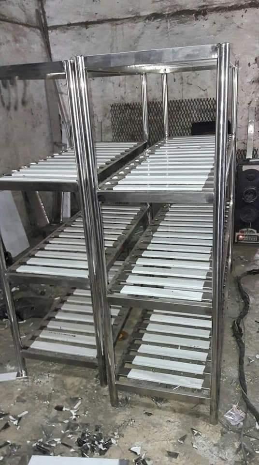 Rak Stainless Steel| Lemari Stainless