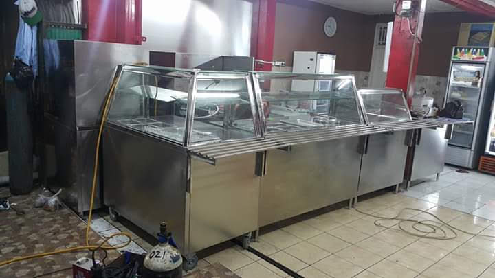 Food Counter Stainless Steel