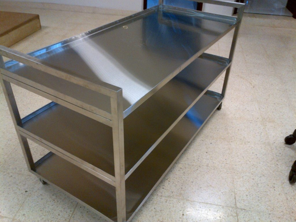 Trolley Makanan Stainless| Food Trolley Stainless